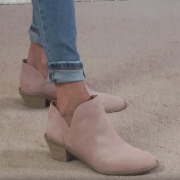 092ceb0d5b6 BLUSH PINK Kelsi Dagger Leather Boots - Women 7.5